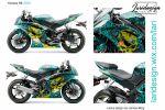 Дизайн ливреи для Yamaha R6