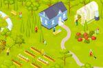 Изометрия: сад-огород
