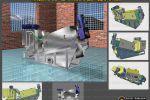 Модель 3D- Шнекового Дегидротатора.