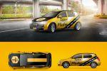 Брендирование авто такси ФРГ
