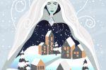 Иллюстрация к книге сказок «Снежная королева»