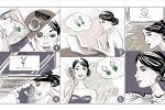 Комикс в стиле фэшн-иллюстрации