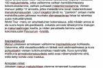 Перевод блога на финский язык.