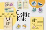 Фирменный стиль для бренда детской одежды