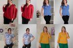Одежда блузы