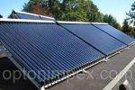 Проект отопления и ГВС офисного здания от солнечных коллекторов.