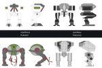 Gamedesign: референсы игровых персонажей