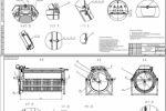 Фильтр барабанный безкорпусной ФБ-200 00.000 СБ Лист 1, Лист 2