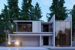 Дом с гаражом в 3D