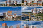Аэросъемка жилых комплексов