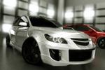 Визуализация кузовного тюнинга для Mazda3