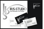 логтип, визитки,дисконт.для фирмы ИРИС-СТУДИО