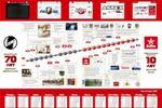 """Плакат-календарь """"Эволюция Актех"""""""