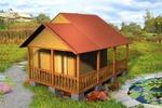 Дачные домики и бани