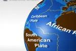 Карта литосферных плит