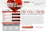 промо-сайт Drum&Bass