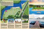 Буклет для коттеджного поселка (в стиле сайта)