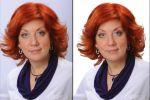 Извлечение фото. Волосы