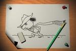 Анимация 2D персонажа на 3D-фоне