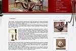 """Салон итальянской элитной мебели из оникса """"Адриано"""""""