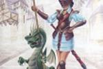 Стражница с драконом