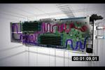 Видеоролик для презентации систем охлаждения серверных плат