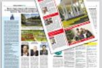 Дизайн-макет новой газеты. Верстка первого номера.