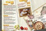 Пиццетория, десертная карта