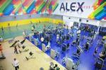 интерьер фитнес-клуба Alex Fitness