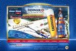 ERDINGER промо-сайт немецкого пива к Кубку по Биатлону