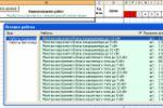 Автоматизация Табеля и Объема выполненных работ в Excel