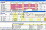 Объединение табелей раб. времени и объемов (Excel)