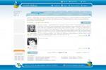 дизайн соц сеть форум