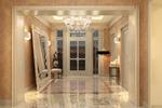 Дизайн и визуализация холла в стиле арт деко