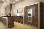 3д визуализация кухни в стиле арт деко