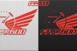 Логотип - эмблема для Honda CBR 600 Club