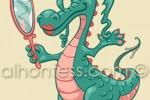 Рисунок дракона для приложения Samsung Galaxy Note