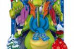 сложнотехническая открытка в год Дракона