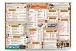 Ретро-меню для Cinema-пиццы