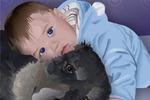 Собачка с Малышкой