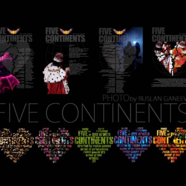 5 continents