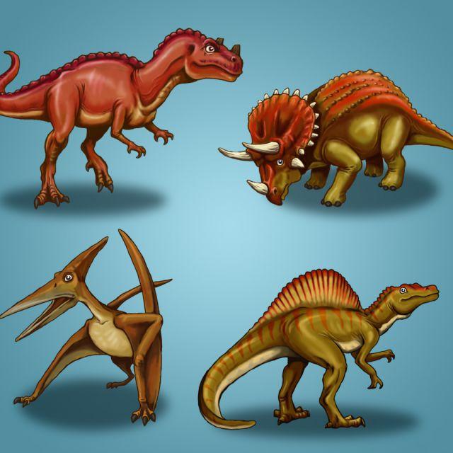 Динозавры01