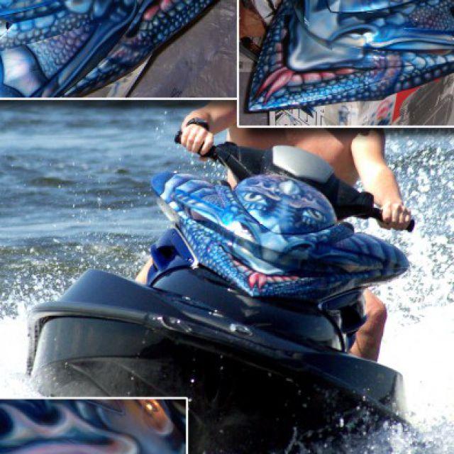 гидроцикл-водный дракон