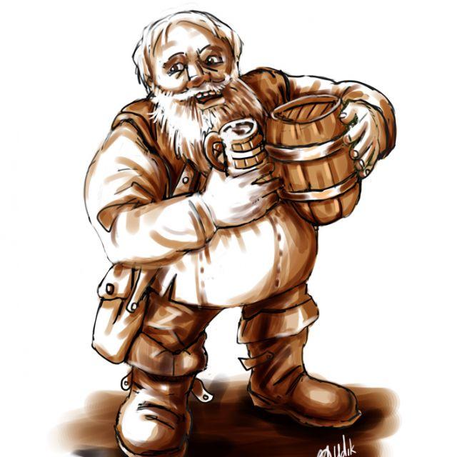Дварф-пивовар.