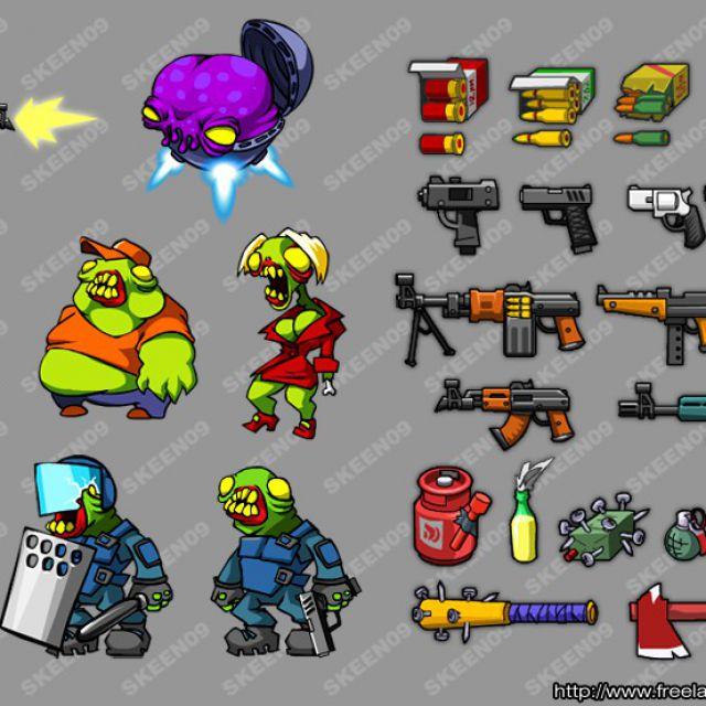 персонажи к игре