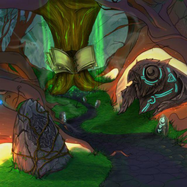 Волшебный лес (концепт)
