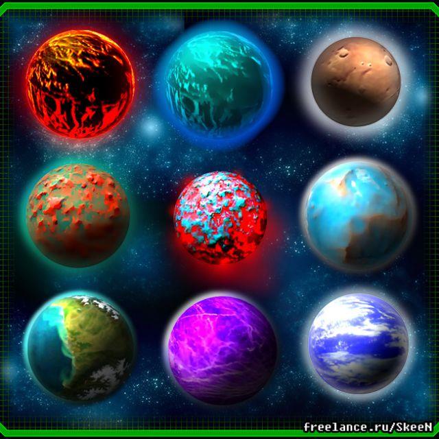 планетки