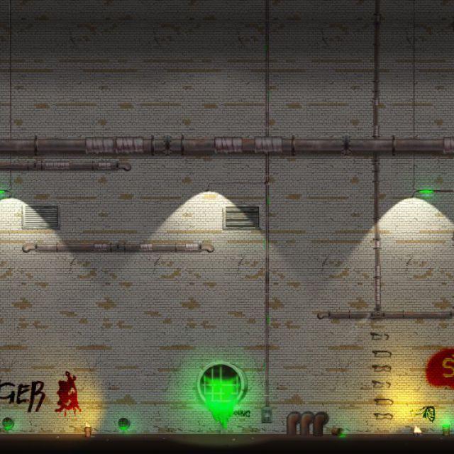 Игровая локация для 2D-платформера