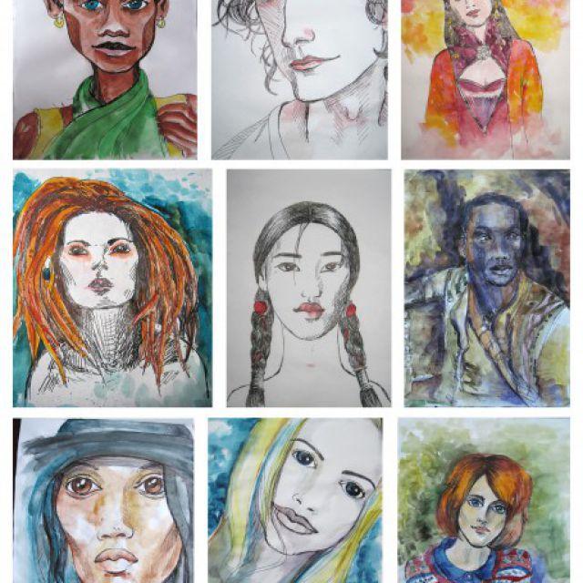 Стилизованные портреты