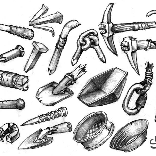 инструмент золотодобытчика